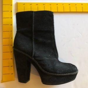 Michael Kors Platform Boots Booties 7 Suede heel
